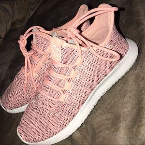 adidas women's shoes - tubular light pink - size 7